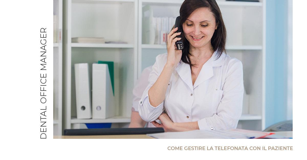 Gestire bene la telefonata è il primo biglietto da visita