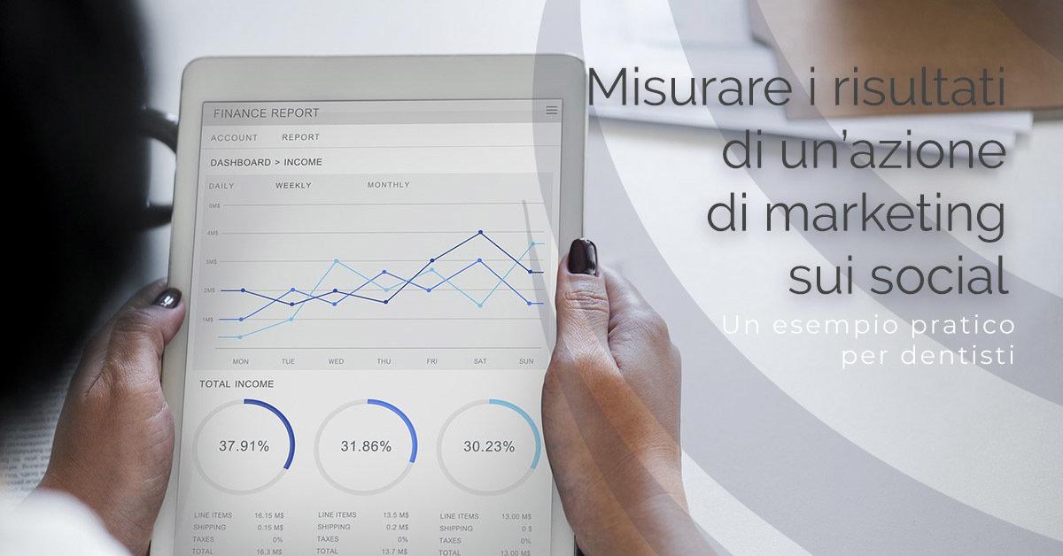 Misurare i risultati di un'Azione di marketing sui Social: un esempio pratico