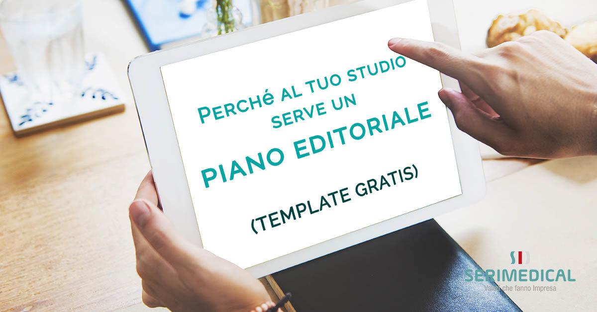 Perché al tuo studio serve un piano editoriale (TEMPLATE GRATIS)